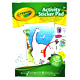 Crayola Activity 30 Page Sticker Pad