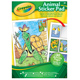 Crayola Animals 30 Page Colouring Pad with…