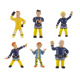 Comansi Fireman Sam Figurine YELLOW SUIT SAM