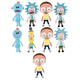 Funko Rick & Morty: Galactic Plushies MR.…