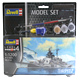 Revell Tirpitz MODEL Set (Level 4) (Scale 1:1200)