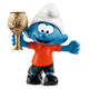 Schleich Smurfs Football Smurf with Trophy